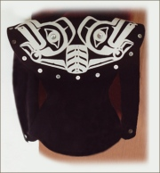Haida eagle design jacket